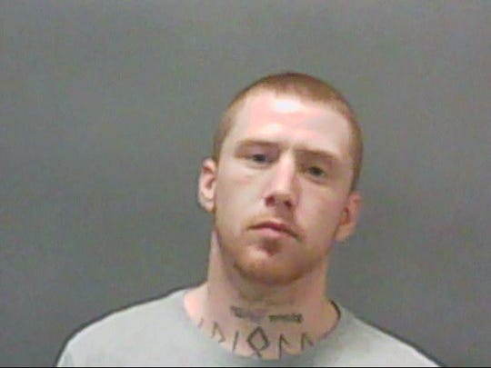 Christopher Mathis, 27, of Kentland, is wanted by Newton County police for his alleged role in the death of Nicole Bowen, 30, of West Lafayette, who was found March 30, 2019, in a field two miles northwest of Kentland.