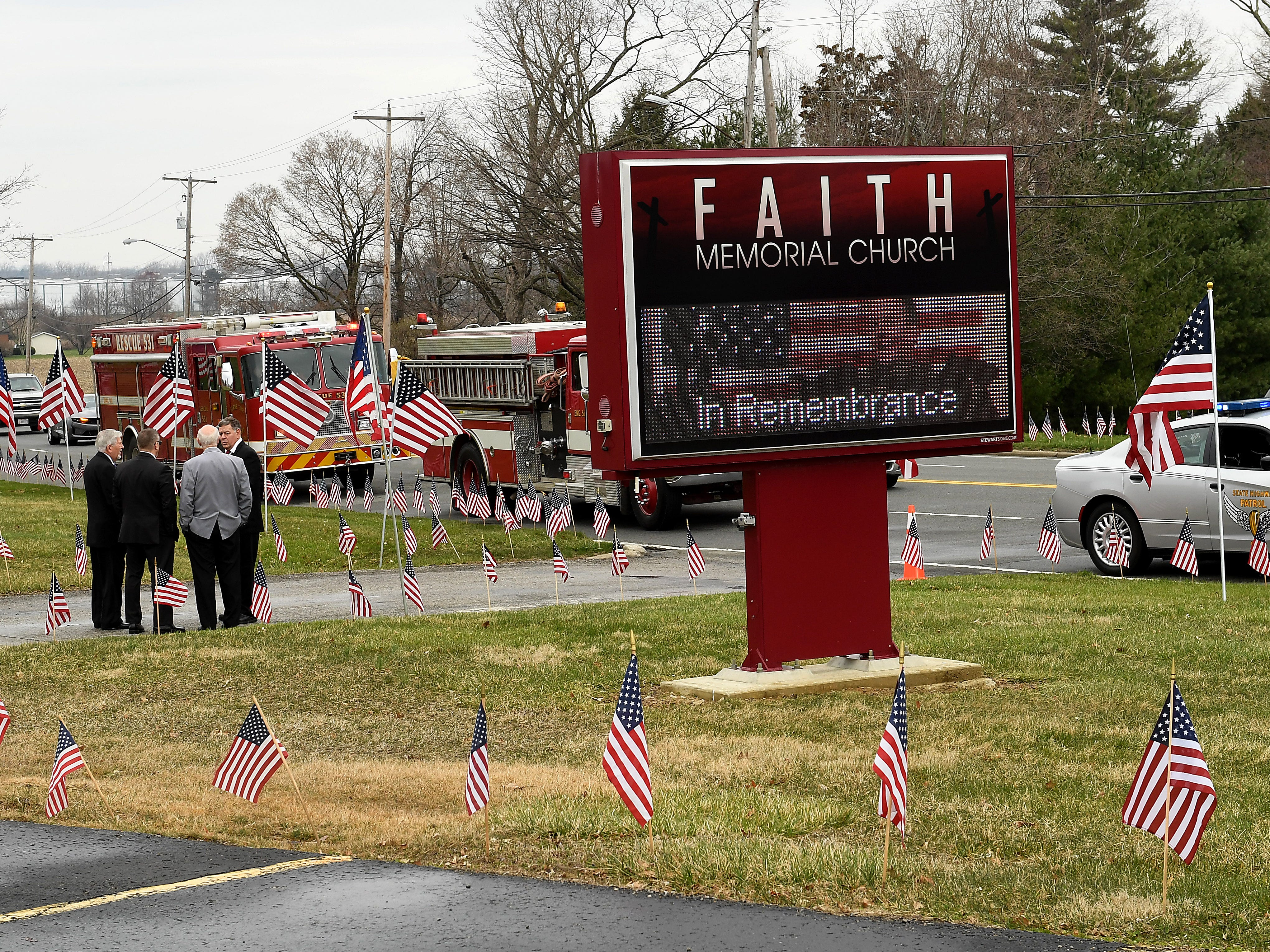 Funeral services were held for Sgt. Joseph Collette's on Friday, April 5, 2019 at Faith Memorial Church in Lancaster. Collette was killed in action in Afghanistan last month.