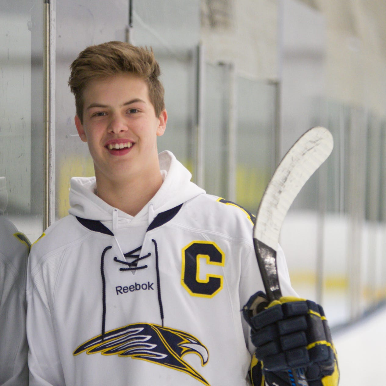 Player of the Year Joey Larson of Hartland proof high school hockey develops talent
