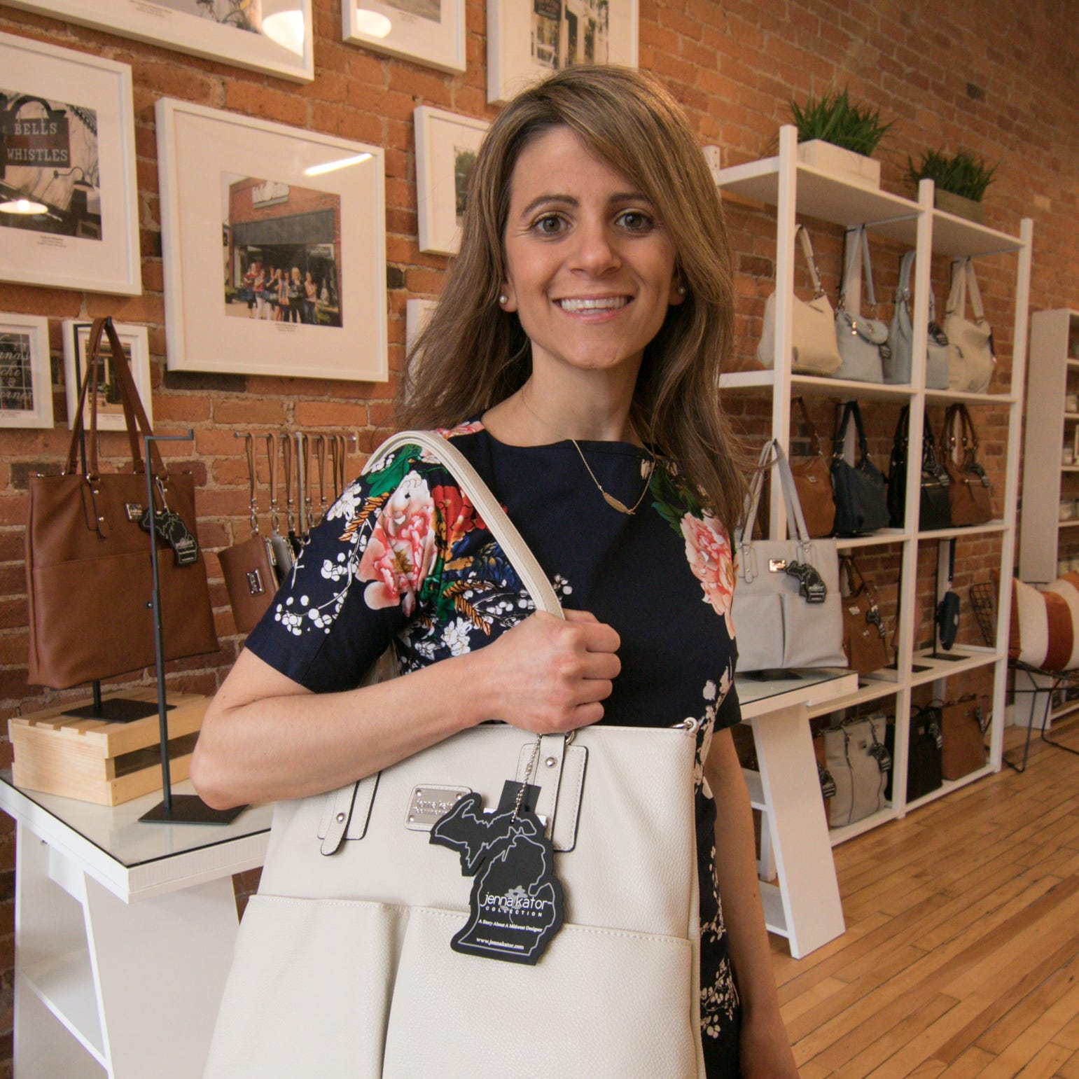 Purse designer inspired by Michigan towns opens flagship shop in Howell