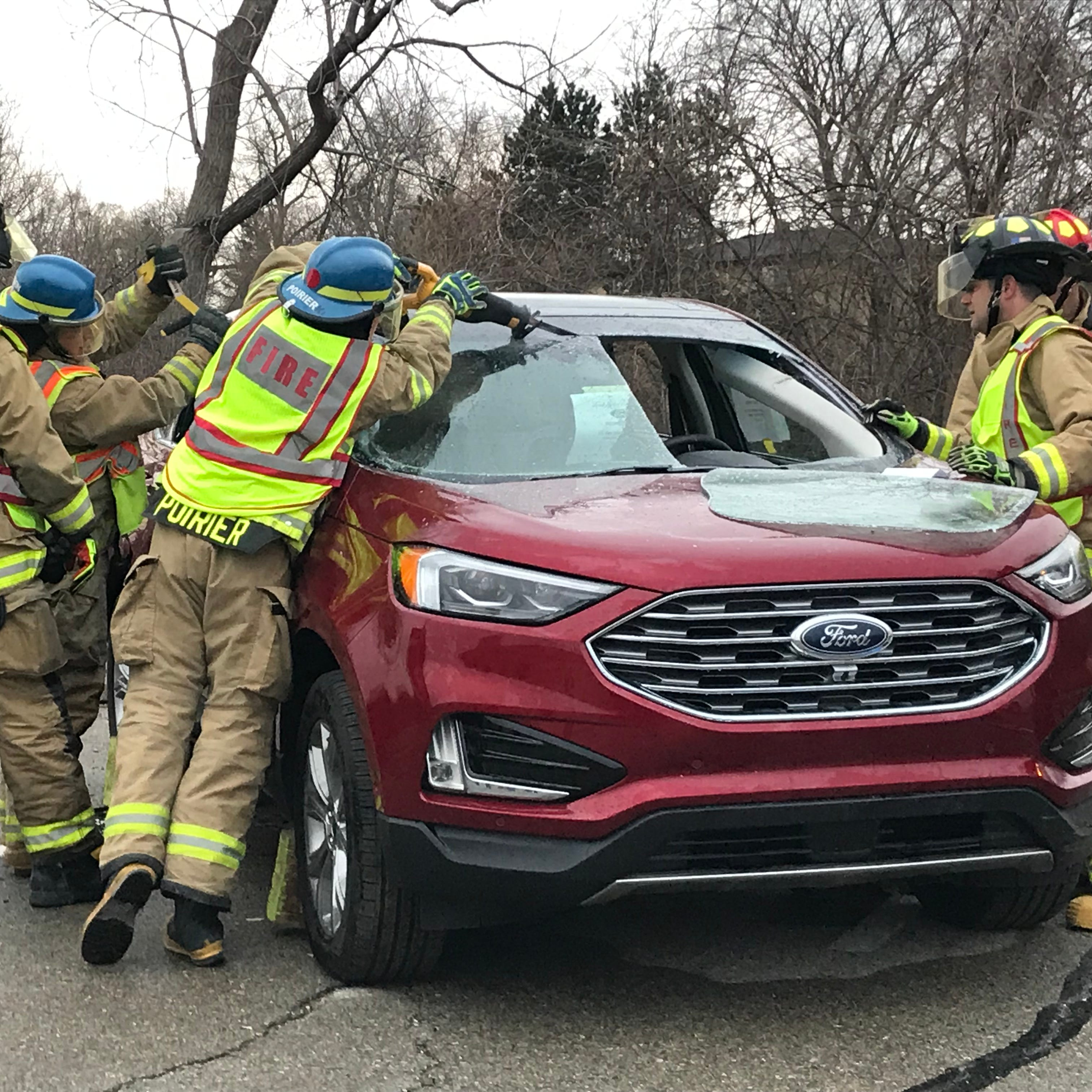Brighton Area Fire Department training focuses on value of sprinklers, modern extrication