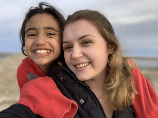 Big Brothers Big Sisters (BBBS) of Manitowoc County has named Big Sister Clara Dramm (right) and Little Sister Taeyonna as its Match of the Month for March.