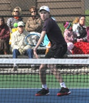 Lexington junior Benton Drake was the Ohio Cardinal Conference MVP last season en route to All-Ohio honors in singles.