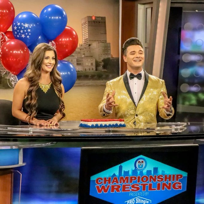 Dustin and Maria Starr will usher in a new era of 'Championship Wrestling' Saturday