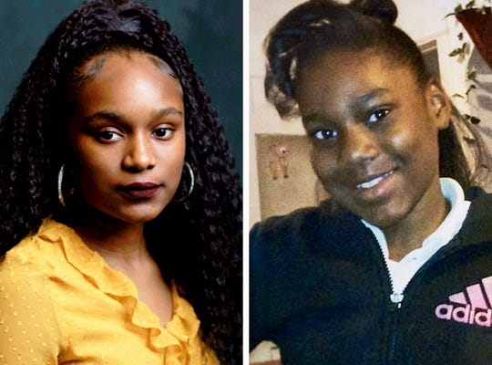 (LtoR)  Bria Smith, president of the Milwaukee Youth Council, has penned a powerful letter to Sandra Parks, a 13-year-old girl who was killed in November when bullets shattered her bedroom window.