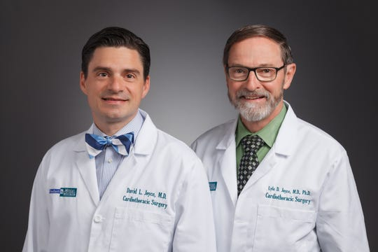 David Joyce, MD (Left), and Lyle Joyce, MD (Right), cardiothoracic surgeons at Froedtert & the Medical College of Wisconsin Froedtert Hospital.
