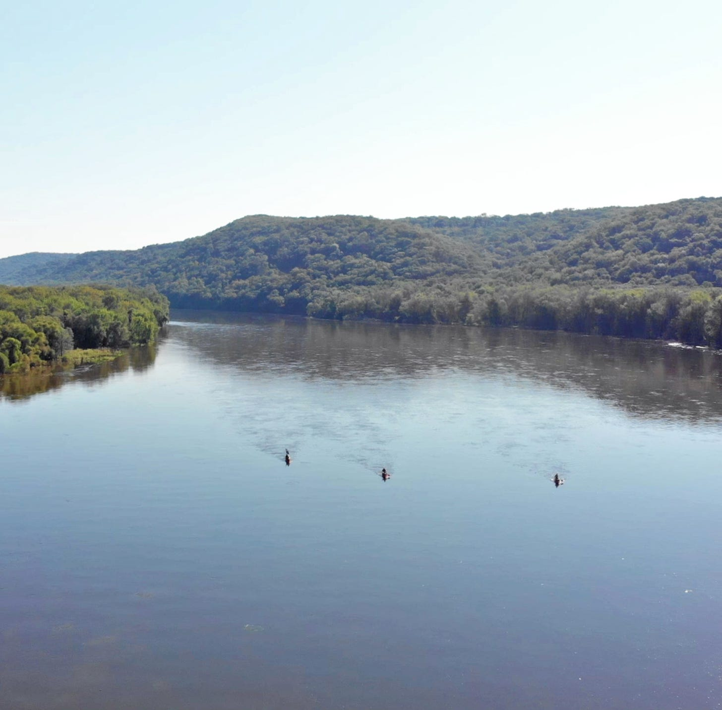 The Driftless 250 has no route and few rules: canoe the Wisconsin River and bike back to Madison