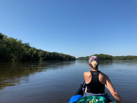 The Driftless 250 includes a leg of paddling about 100 miles down the Wisconsin River.