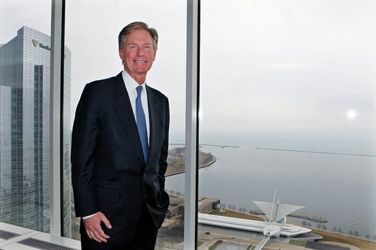 Steve Booth, CEO of Robert W. Baird & Co., says Milwaukee is a good place for Baird's company headquarters.