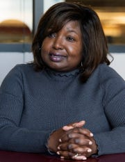 Phyllis Harvey Hall is a candidate for City Council District 5 in Montgomery, Ala., on Friday April 5, 2019.