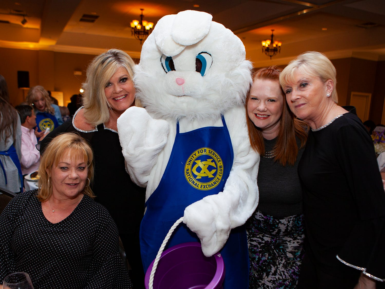 The Exchange Club Celebrity Waiter lunch was held Thursday, April 4, 2019, at Stones River Country Club in Murfreesboro.