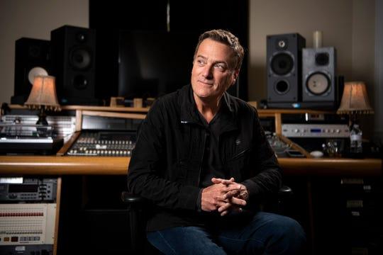 Michael W. Smith at his studio in Franklin, Tenn., Friday, April 5, 2019.