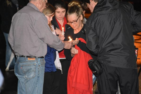 People gathered Thursday night at Friendship Baptist Church in Tennessee City to mark the one-year anniversary of the day 5-year-old Joe Clyde Daniels was reported missing. Police say the boy's father confessed to killing him, but his remain have not been located.
