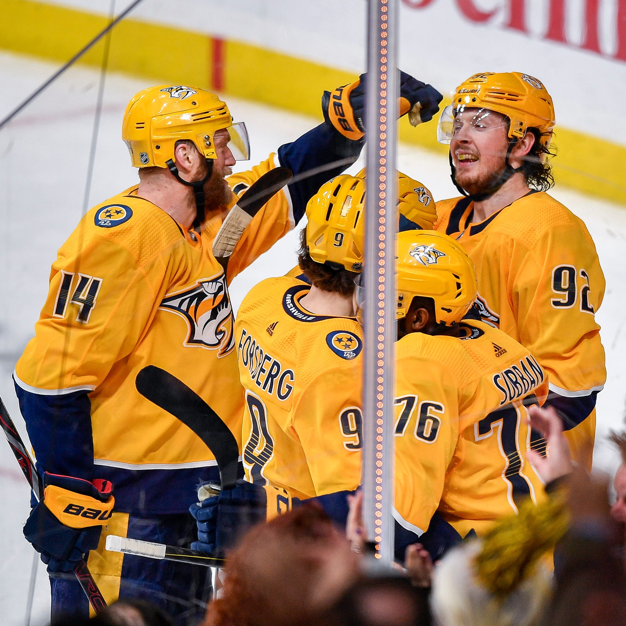Ryan Johansen's late goal gives Predators big victory against Canucks