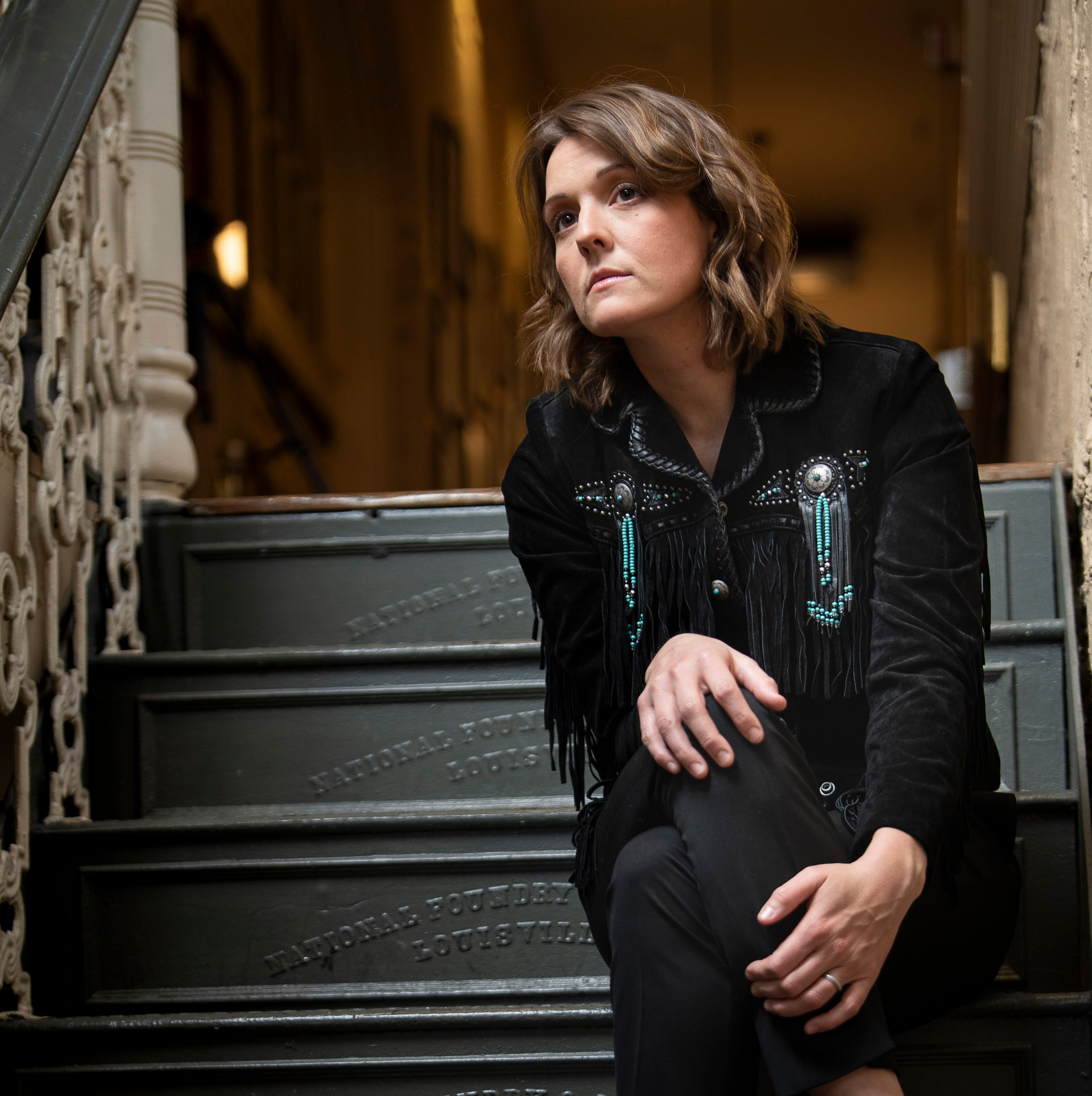 Brandi Carlile at the Ryman Auditorium Wednesday, April 3, 2019 in Nashville, Tenn..