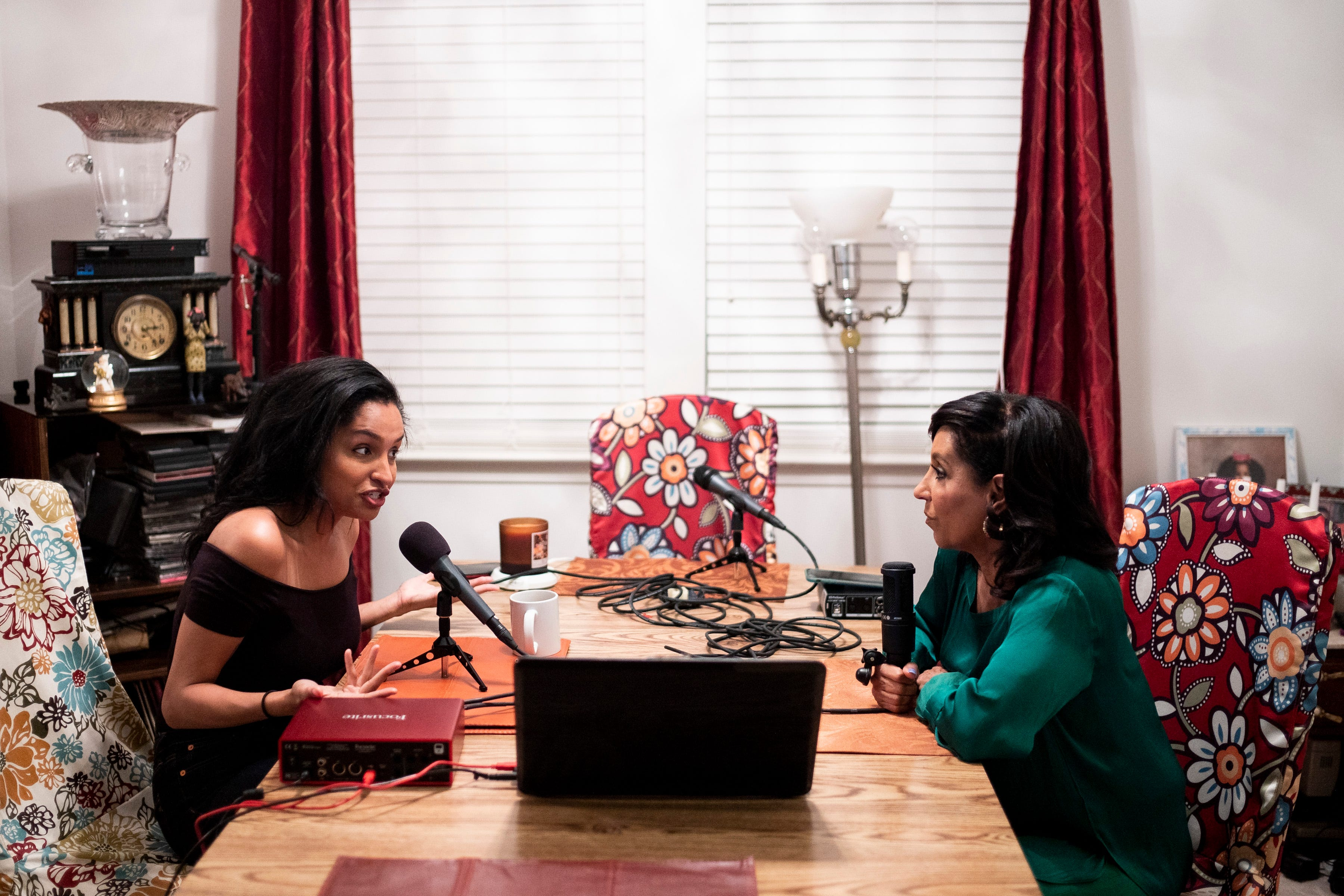 News Channel 5 anchor Vicki Yates and her daughter Torri discuss their  weekly podcast