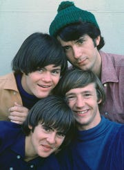 RCA Records Clockwise from upper left are The Monkees, circa 1966: Micky Dolenz, Michael Nesmith, Peter Tork and the late Davy Jones (who died at age 66 in 2012). The Monkees, circa 1966.  Clockwise from top left: Micky Dolenz, Michael Nesmith, Peter Tork and Davy Jones.  Credit: RCA Records.