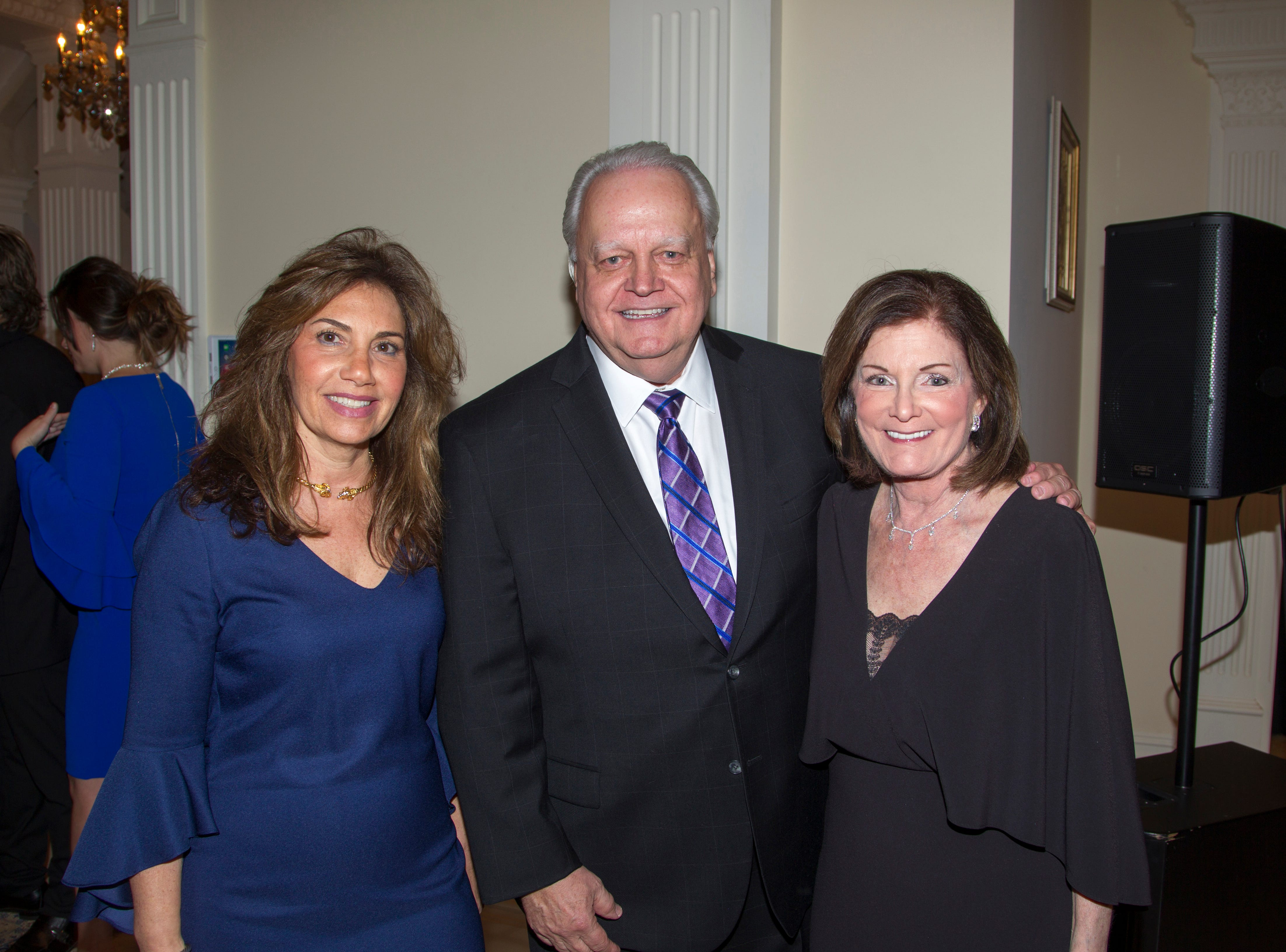 Alissa Blate, Mayor Kurpis, Judy. Saddle River Arts Council presents An Evening of Giving Back featureing Eric Genuis in Saddle River. 03/30/2019