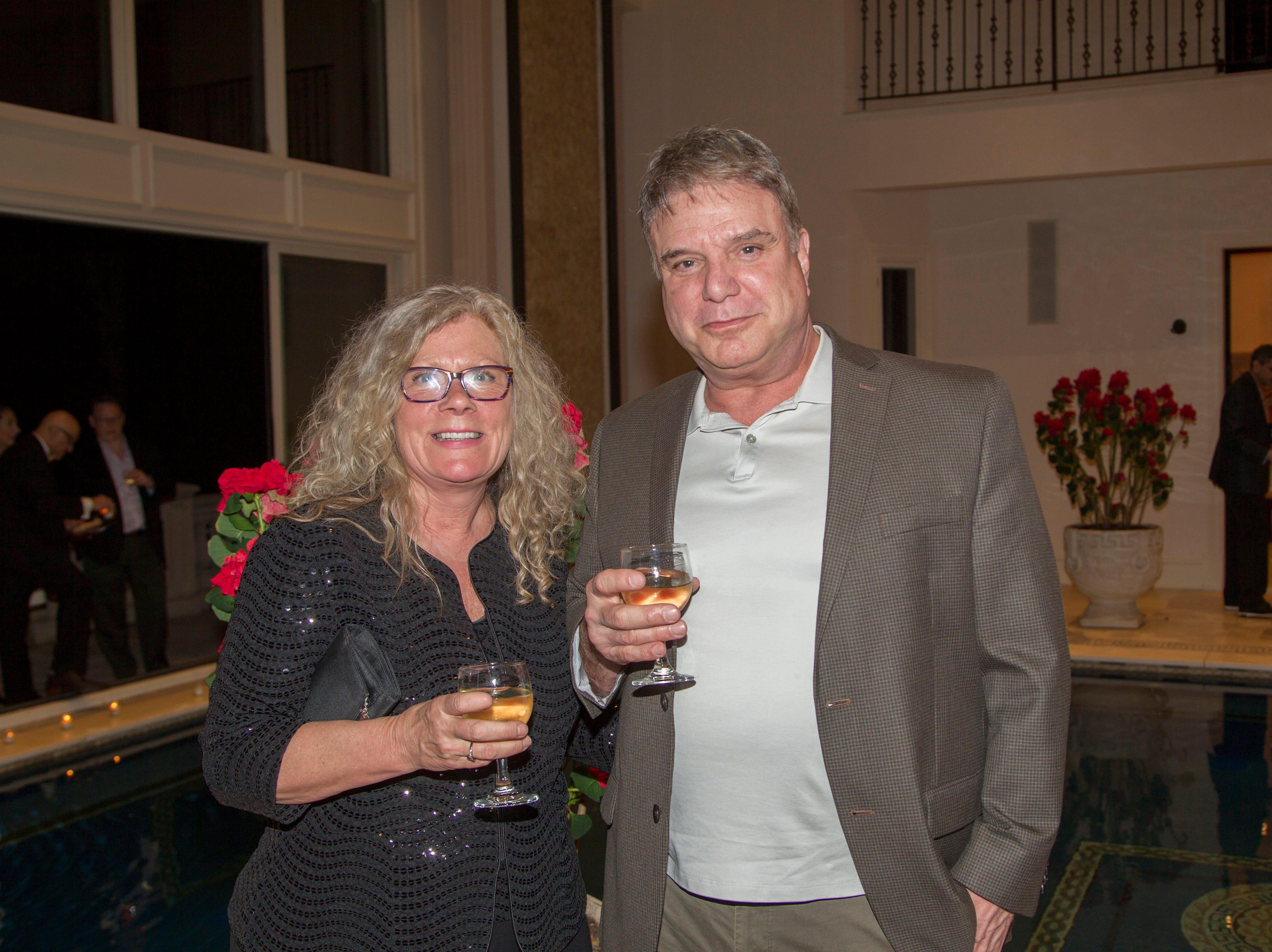 Kathy Donaghue, James Hallaway. Saddle River Arts Council presents An Evening of Giving Back featureing Eric Genuis in Saddle River. 03/30/2019