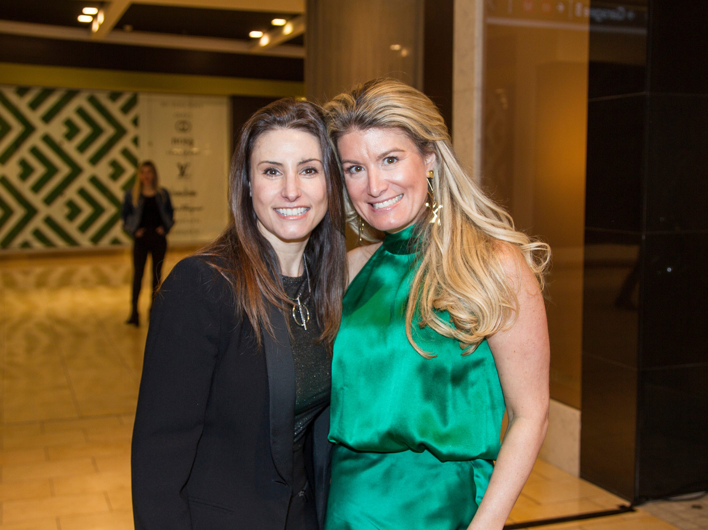 Lisa Hermann, Candace Kristin. Westfield Garden State Plaza held its Meet the Artist & Trend Show benefitting The Valley Hospital Auxillary Saddle River Branch. 04/03/2019