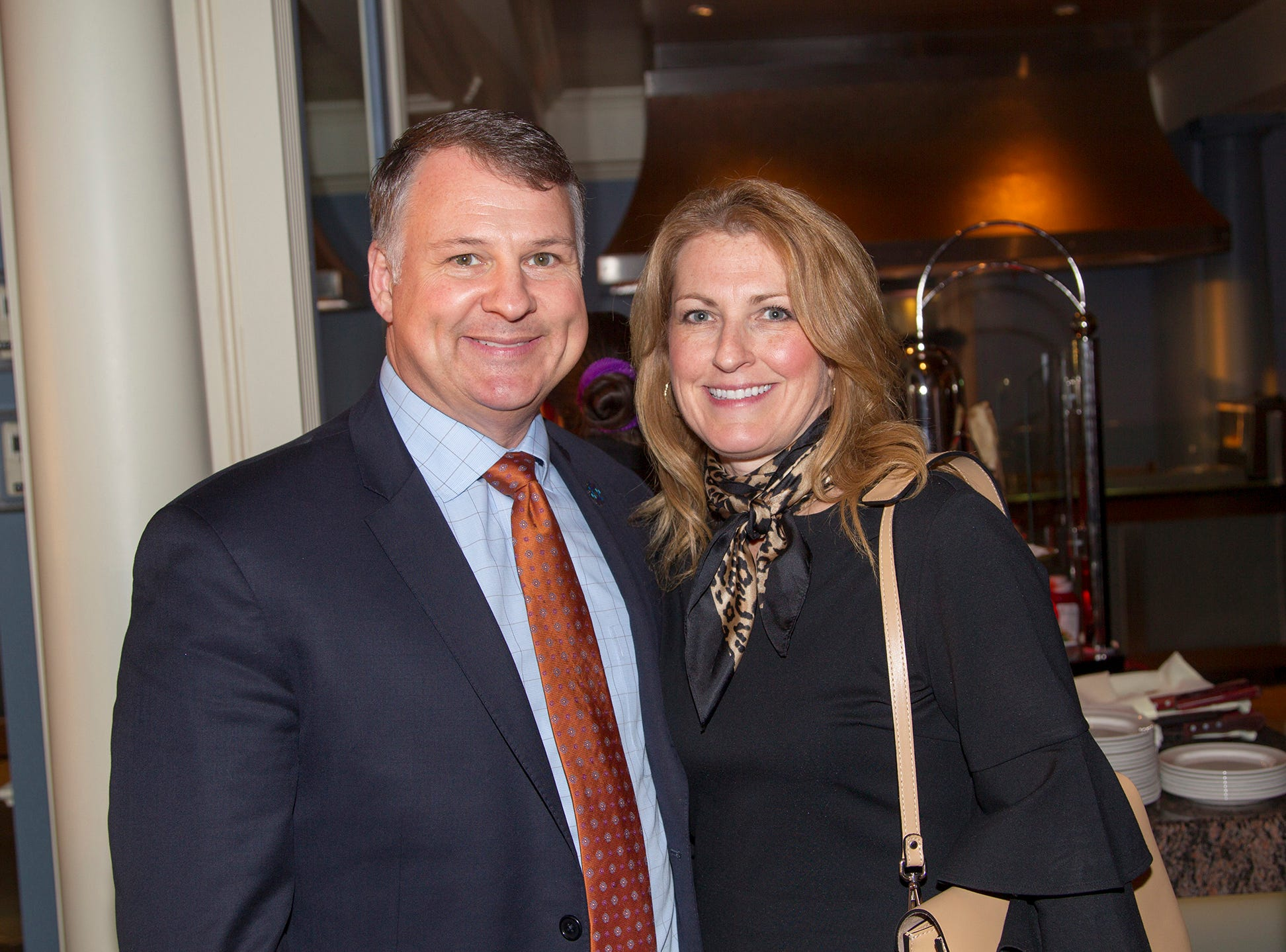 Mark and Colleen Sparta. Girl Scouts of Northern New Jersey held its Women of Achievement 2019 at Westmount Country Club in Woodland Park. 04/04/2019