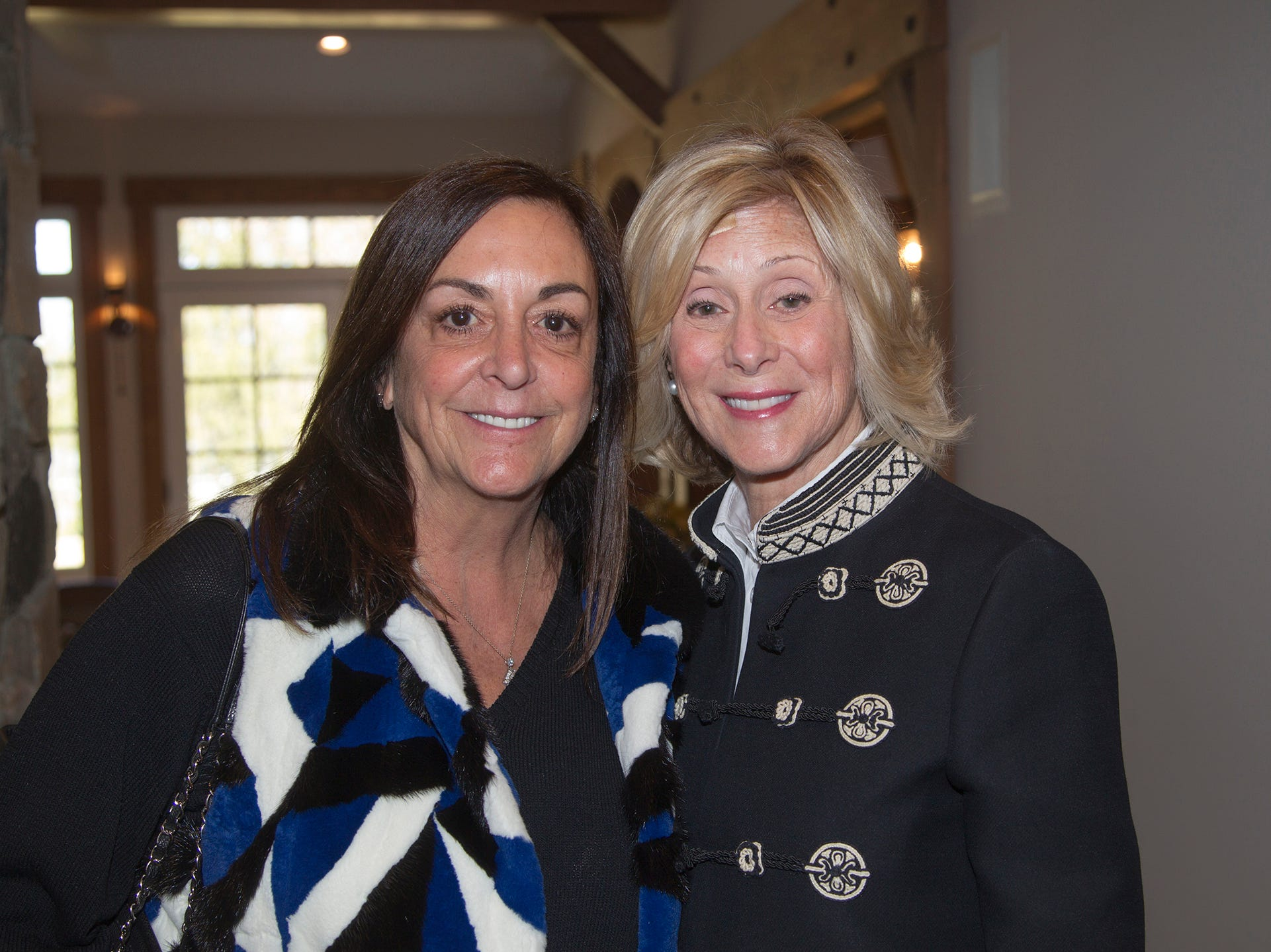 Joyce Hall, Merle Fish. Kaplen JCC on the Palisades held its annual Lavish Lunches for Seniors in our Community. 04/04/2019