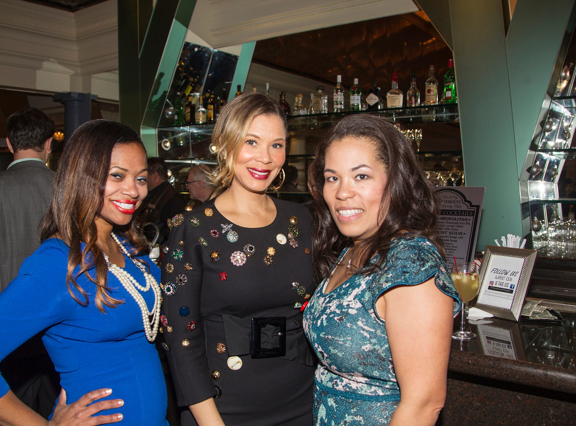 Christyl Murray, Erika Liles, Maryann Thomas. Girl Scouts of Northern New Jersey held its Women of Achievement 2019 at Westmount Country Club in Woodland Park. 04/04/2019