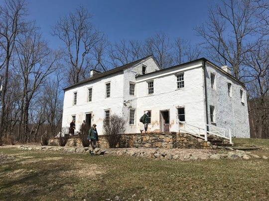 The Waterloo Hotel and Tavern is one of three buildings in Waterloo Village in Byram, N.J., as seen on April 4, 2019, set to receive a portion of a $3 million grant for site preservation.