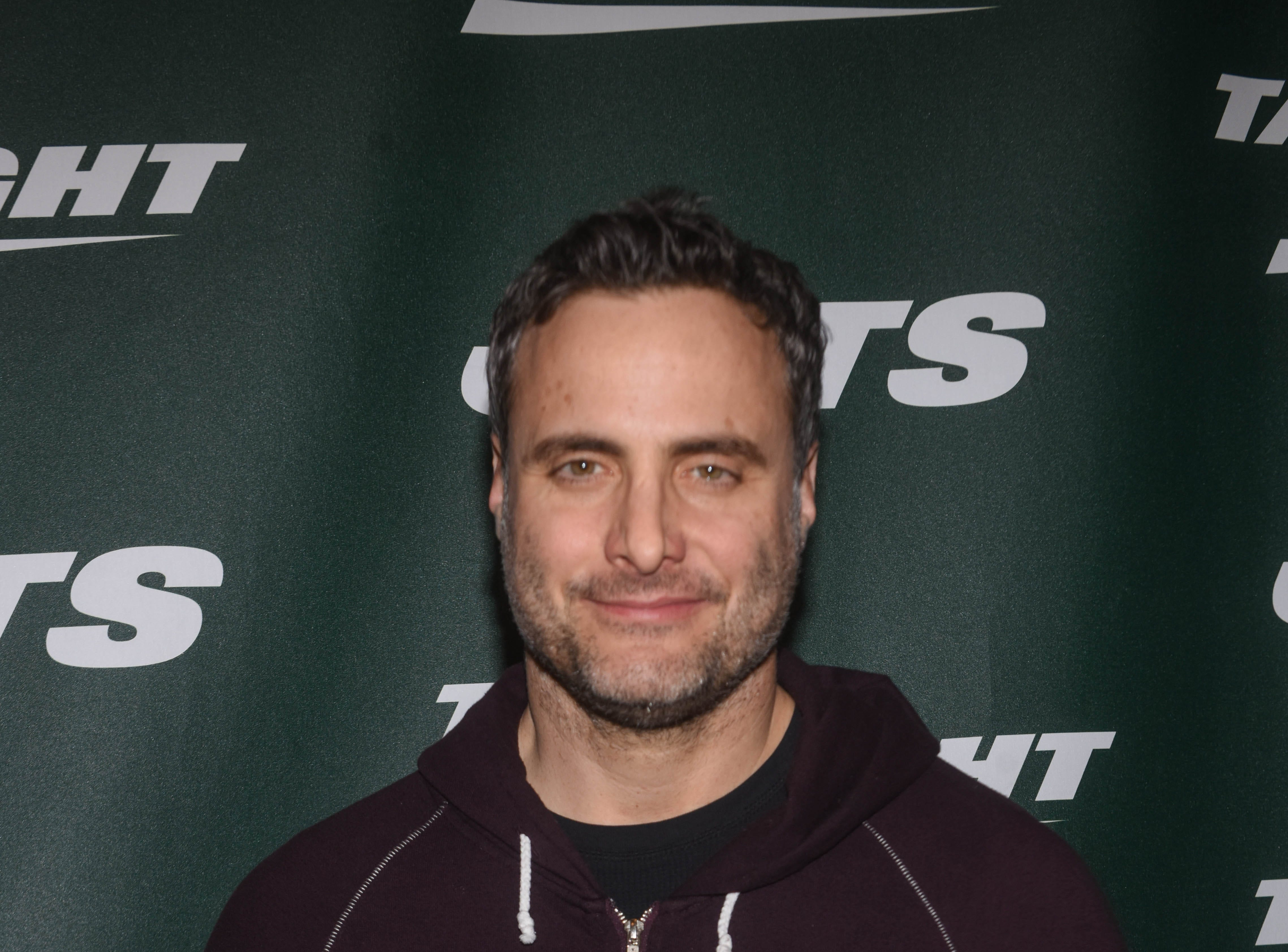 Dominic Fumusa (Actor). The NY Jets unveiled their new football uniforms with an event hosted by JB Smoove at Gotham Hall in New York. 04/05/2019