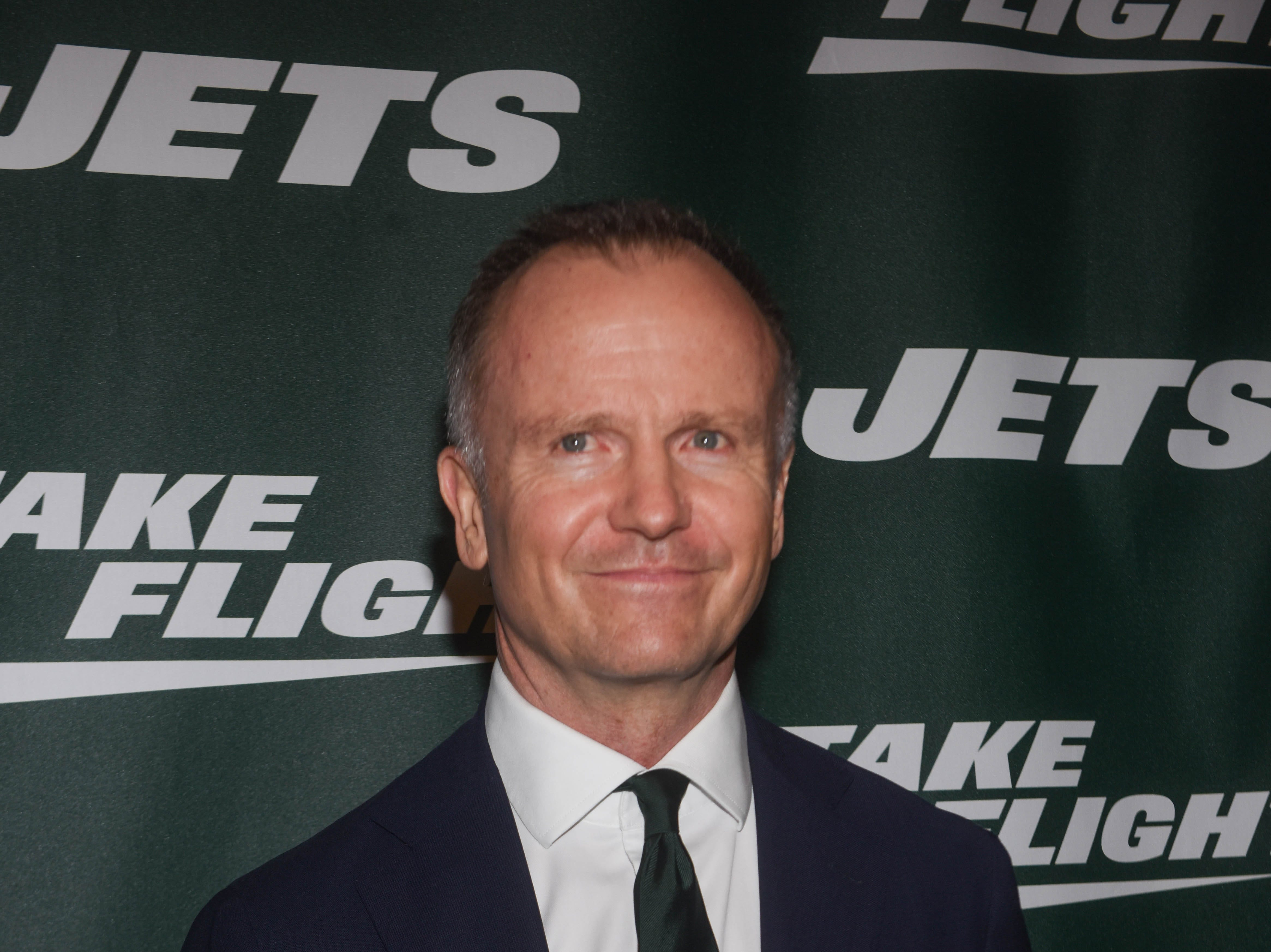 Christopher Johnson (NY Jets CEO and Chairman). The NY Jets unveiled their new football uniforms with an event hosted by JB Smoove at Gotham Hall in New York. 04/05/2019