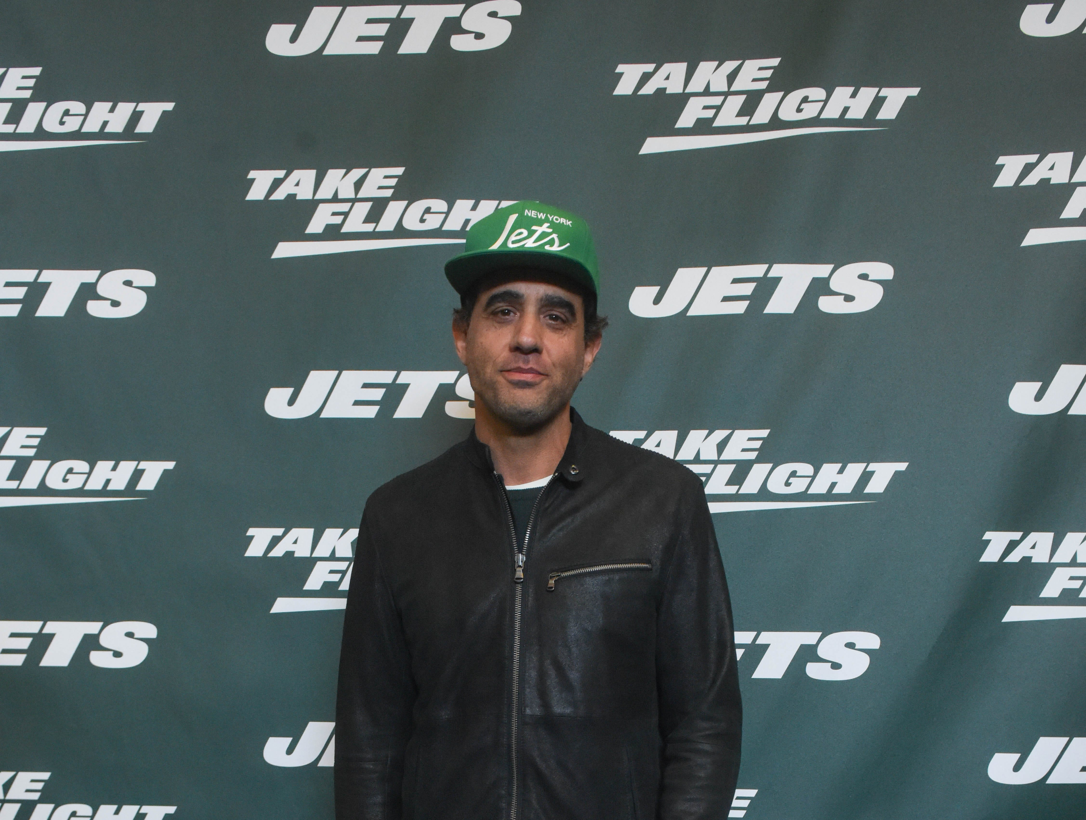 Bobby Cannavale (Actor). The NY Jets unveiled their new football uniforms with an event hosted by JB Smoove at Gotham Hall in New York. 04/05/2019