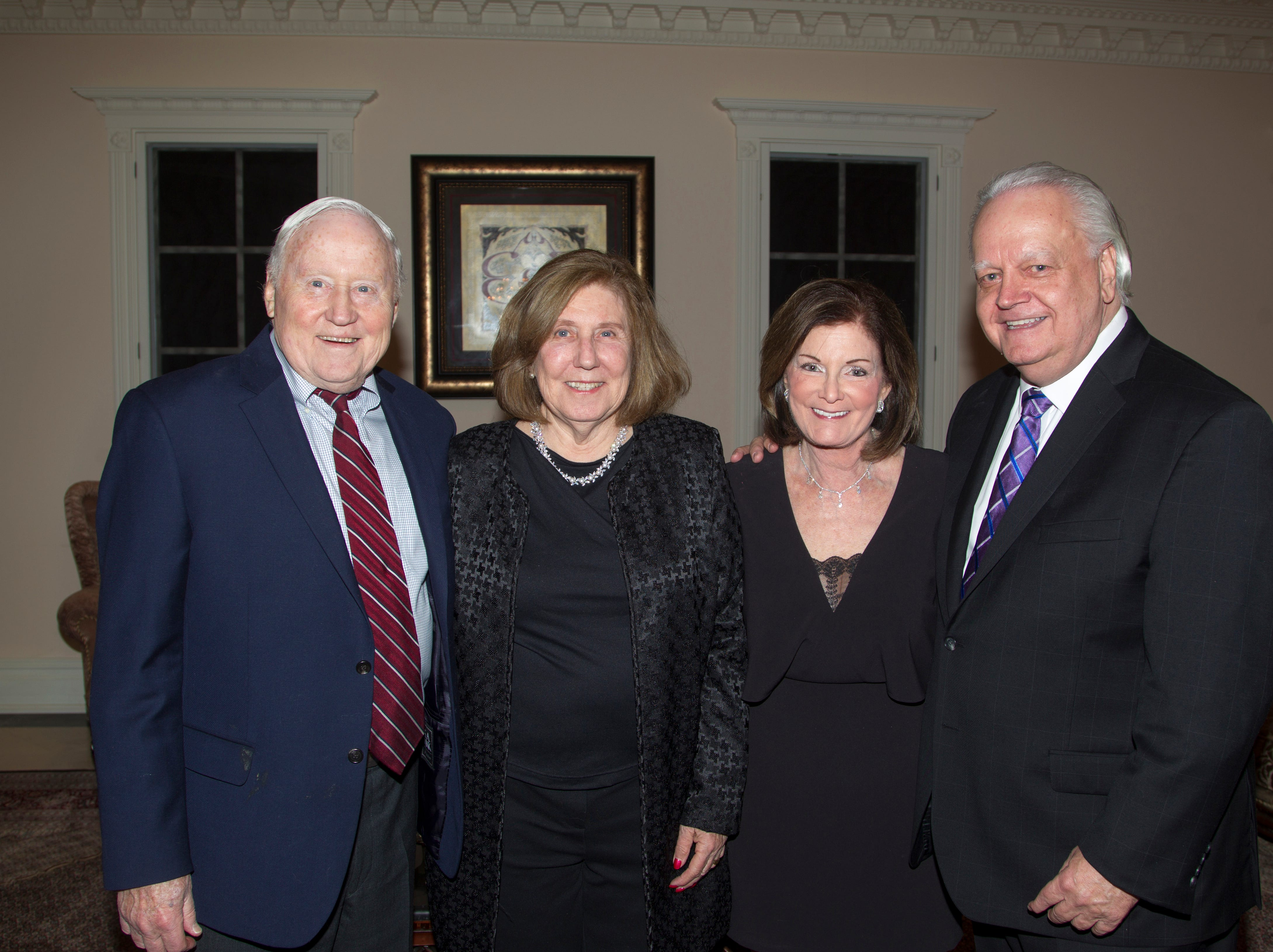 Bob and Mary Wortmann, Judy and Mayor Kurpis. Saddle River Arts Council presents An Evening of Giving Back featureing Eric Genuis in Saddle River. 03/30/2019
