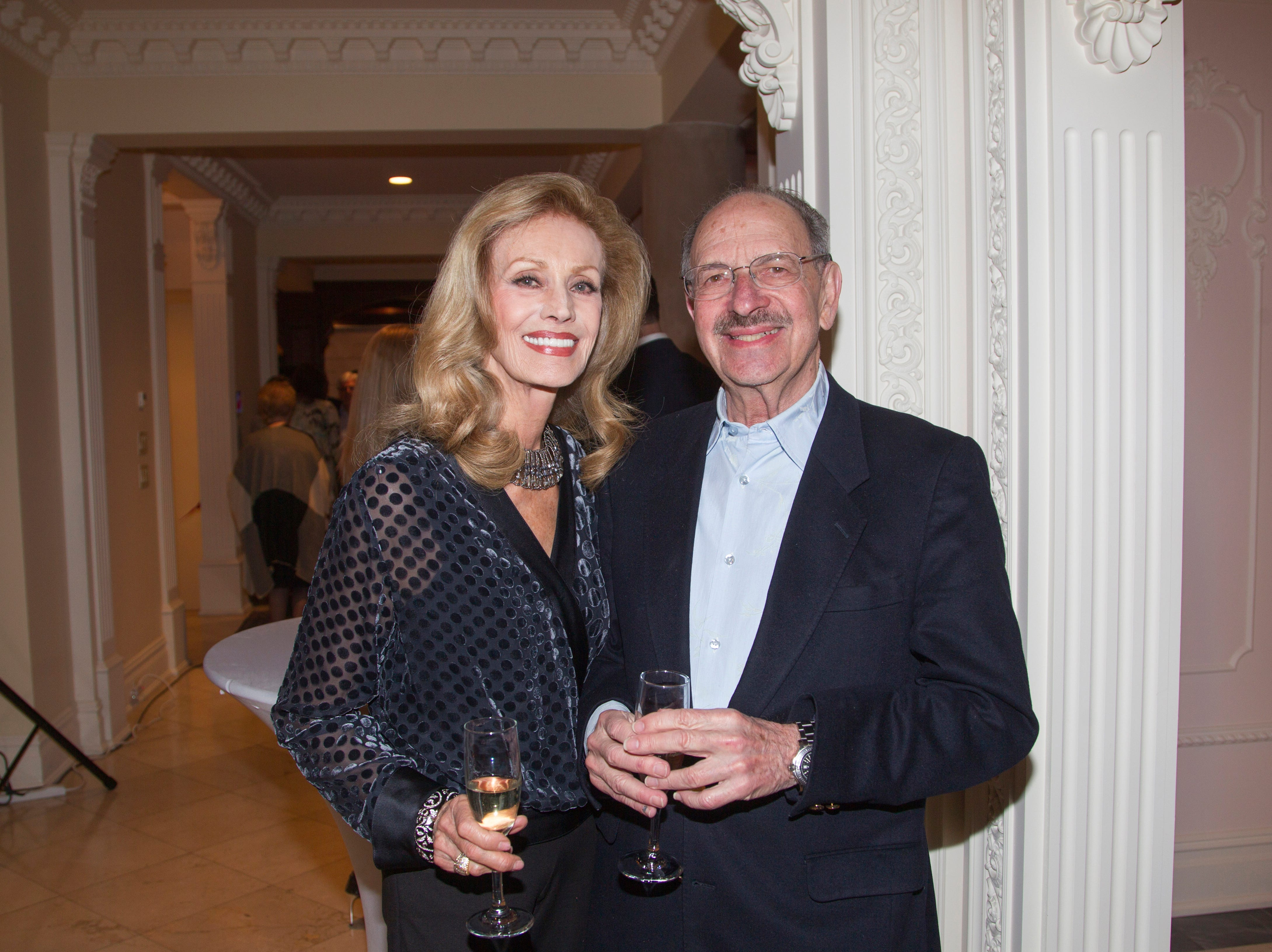 Diana Frankel-Hughes, David Gross. Saddle River Arts Council presents An Evening of Giving Back featureing Eric Genuis in Saddle River. 03/30/2019