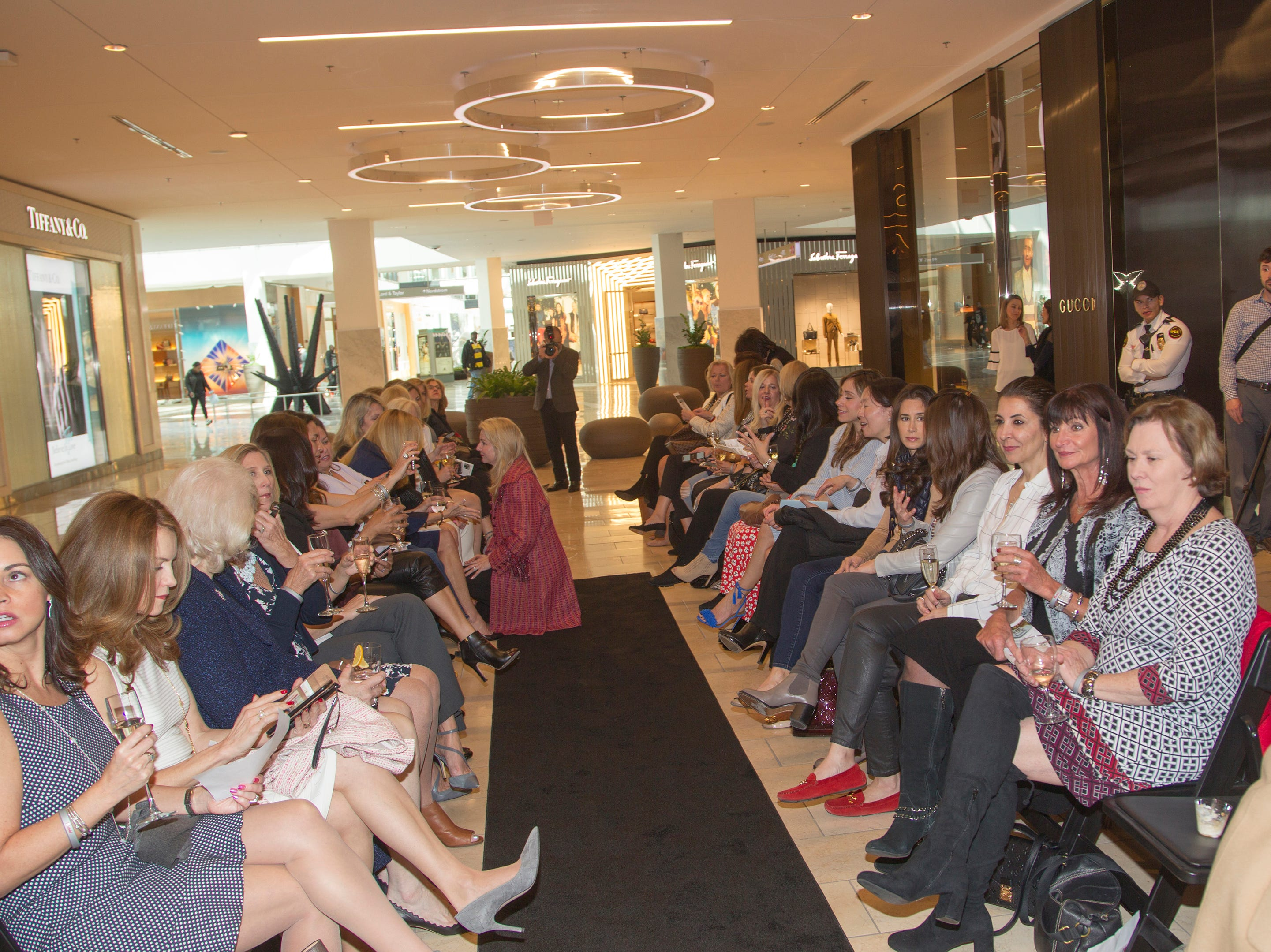 Westfield Garden State Plaza held its Meet the Artist & Trend Show benefitting The Valley Hospital Auxillary Saddle River Branch. 04/03/2019