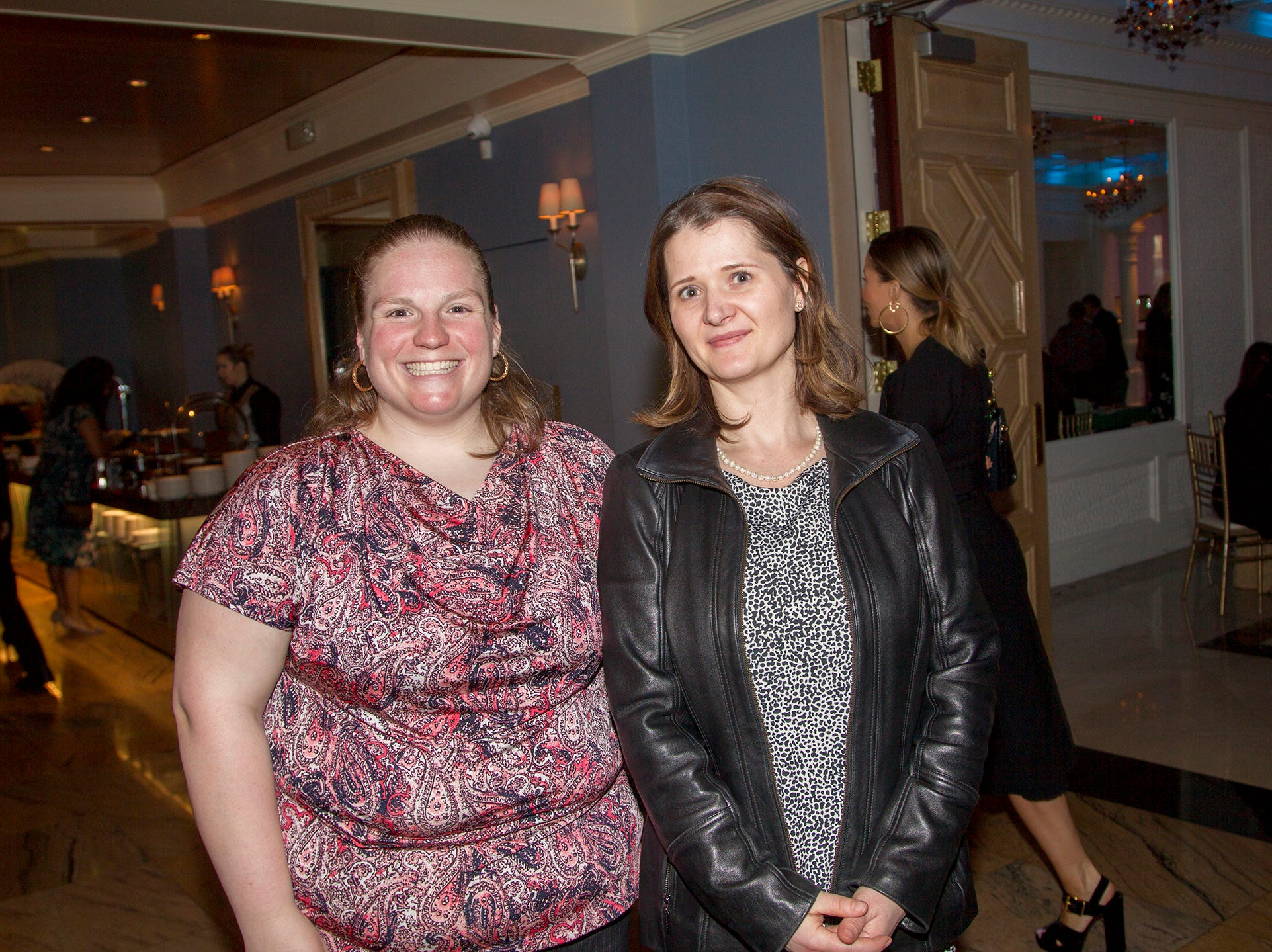 Stephanie Senkevich, Luba DeGroat. Girl Scouts of Northern New Jersey held its Women of Achievement 2019 at Westmount Country Club in Woodland Park. 04/04/2019