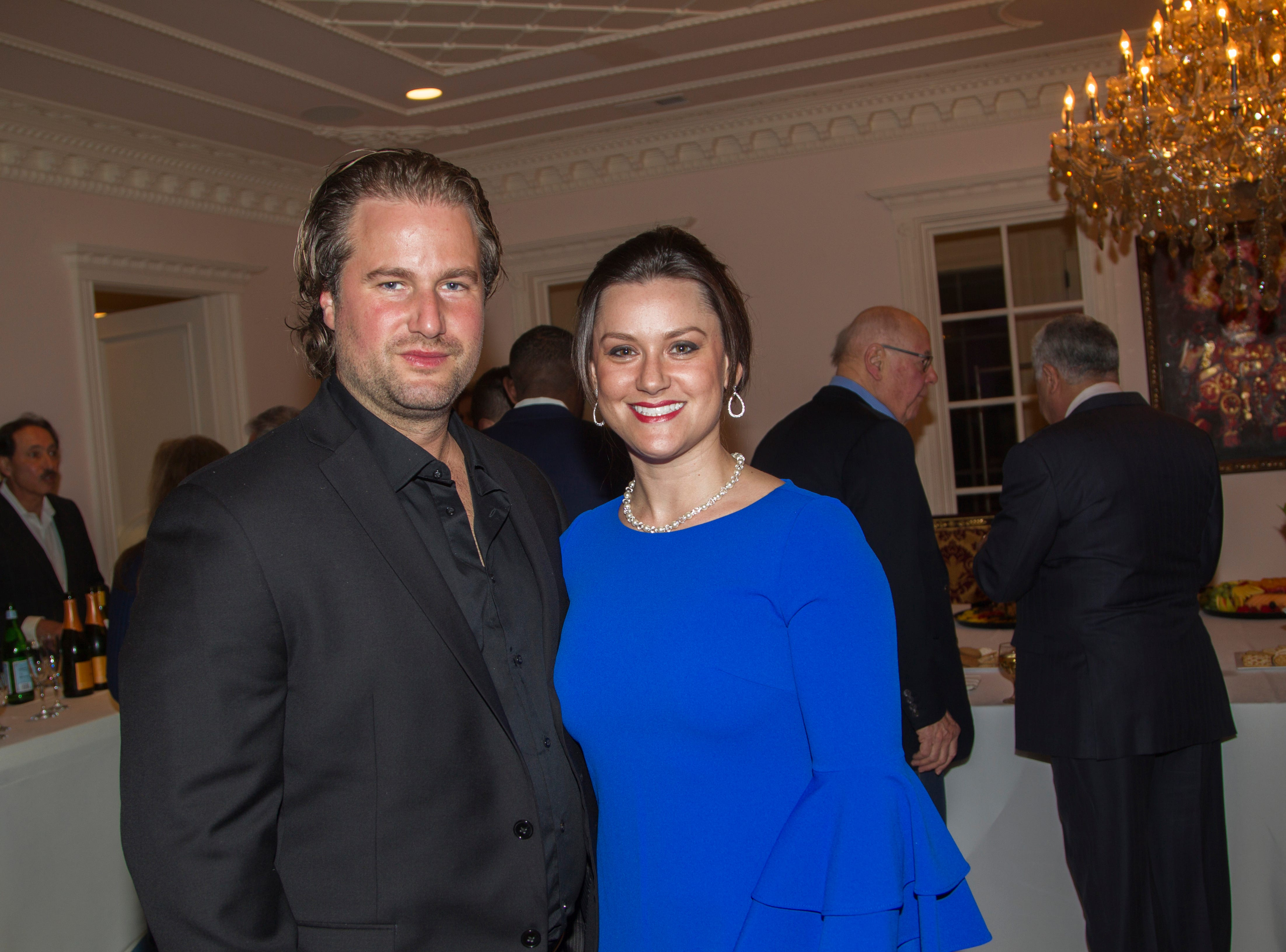Mike and Caroline Randy. Saddle River Arts Council presents An Evening of Giving Back featureing Eric Genuis in Saddle River. 03/30/2019