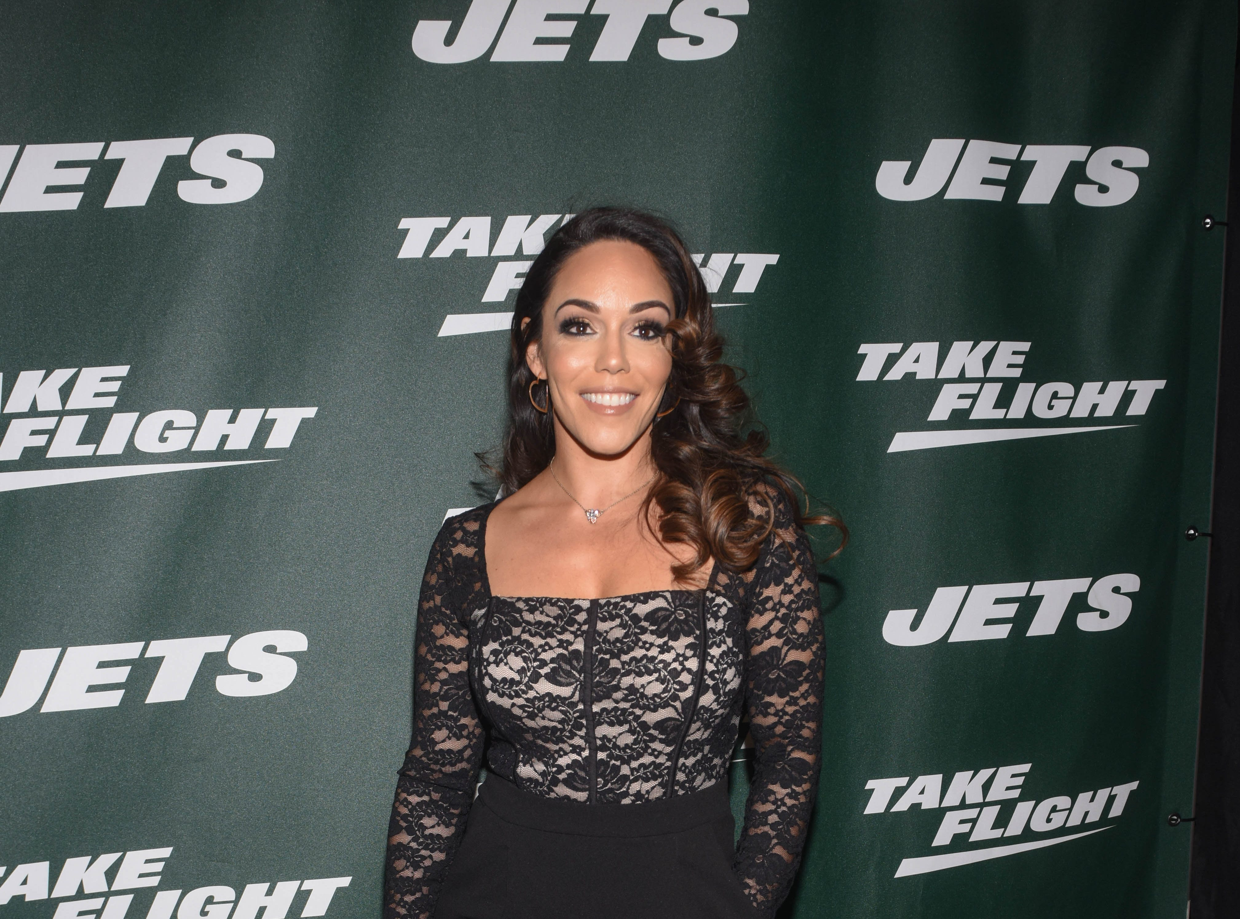 Phoenix Carnevale (MMA ambassador). The NY Jets unveiled their new football uniforms with an event hosted by JB Smoove at Gotham Hall in New York. 04/05/2019