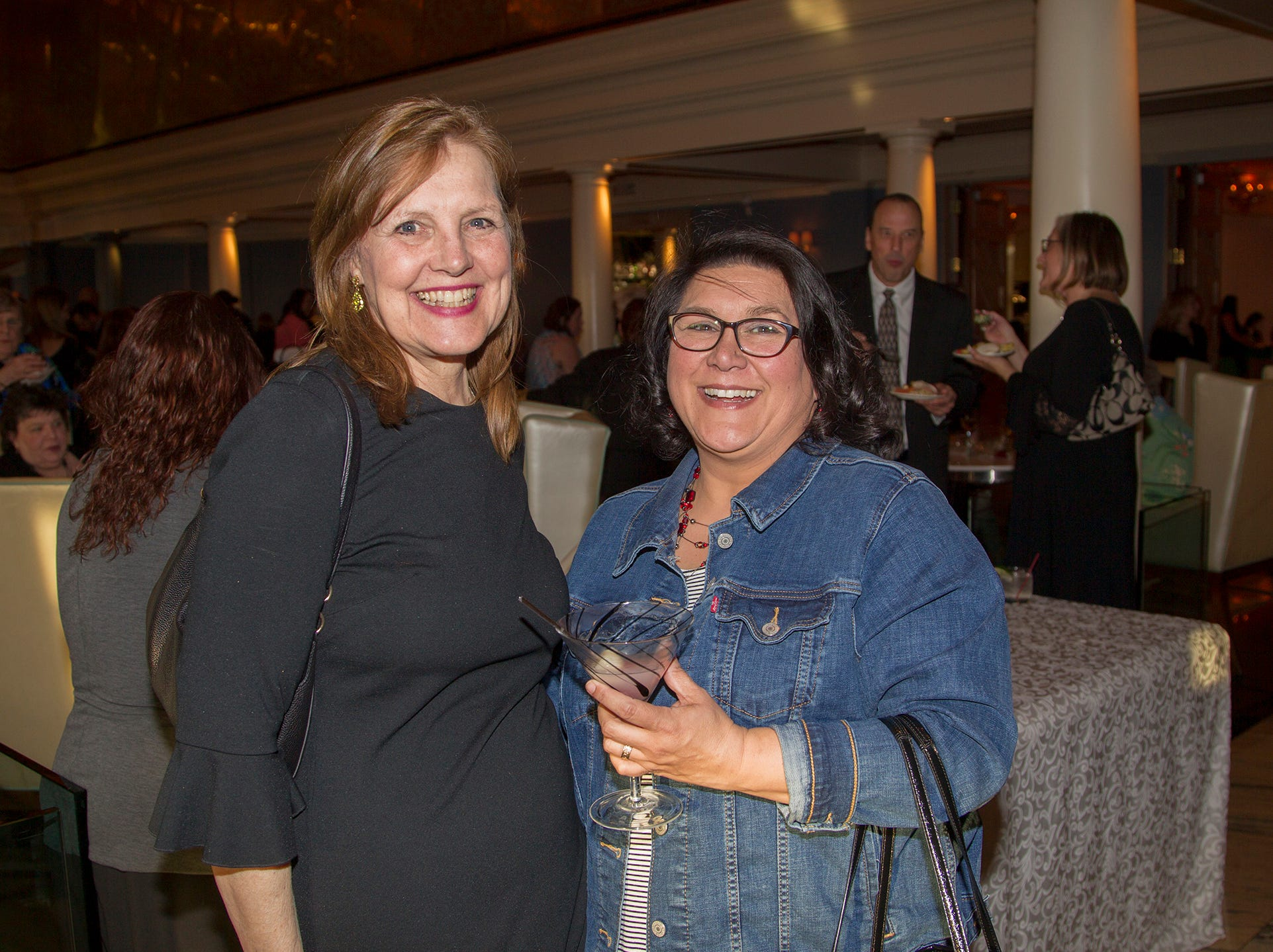 Cathy Ragnetti, Michelle Gelleispe. Girl Scouts of Northern New Jersey held its Women of Achievement 2019 at Westmount Country Club in Woodland Park. 04/04/2019