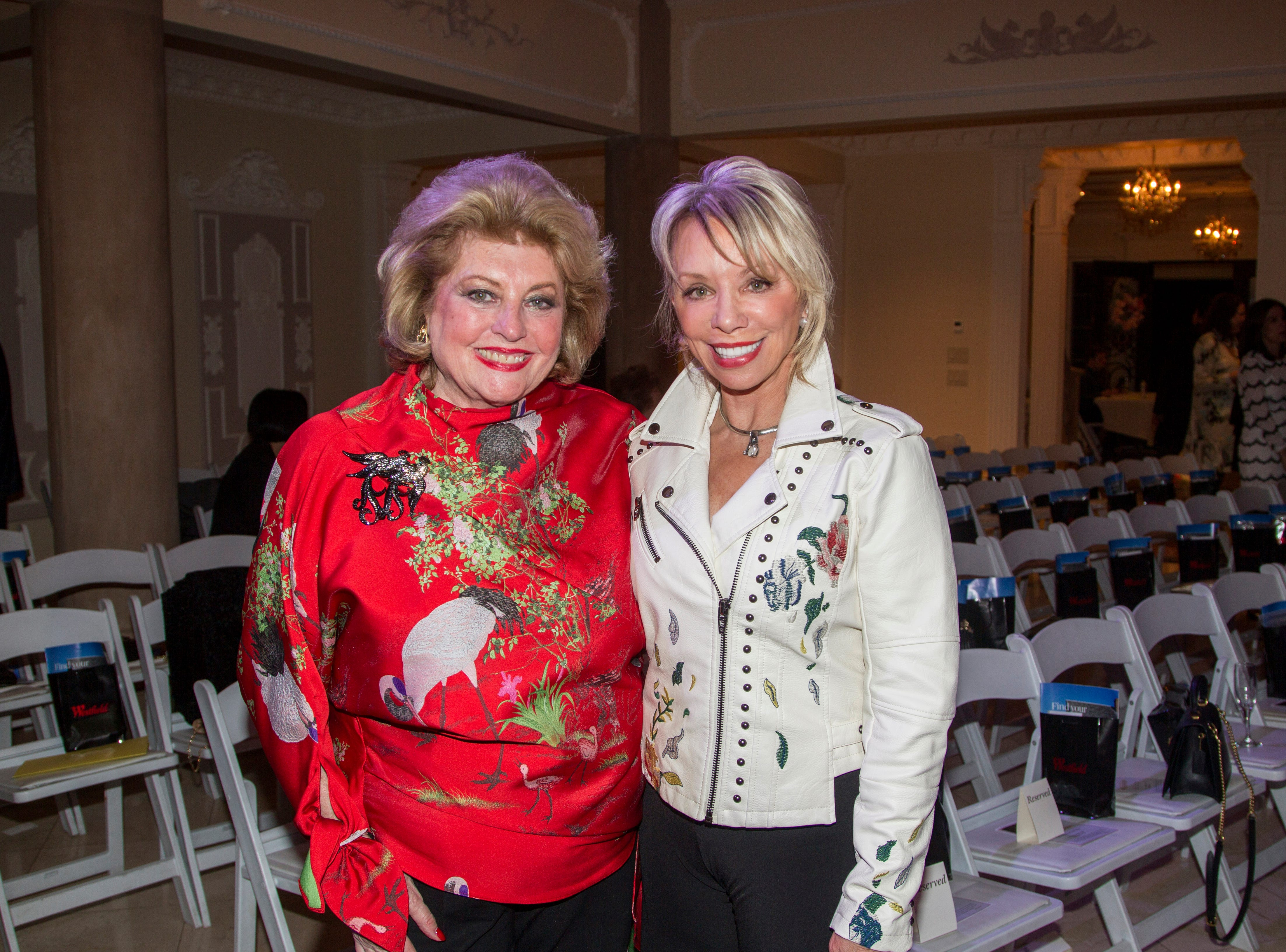 Barbara Ostrom, Carolyn Palmer. Saddle River Arts Council presents An Evening of Giving Back featureing Eric Genuis in Saddle River. 03/30/2019