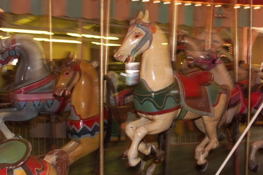 Casino carousel, Seaside Heights