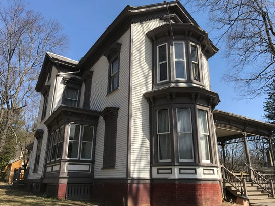 The Seymour Smith House is one of three buildings in Waterloo Village in Byram, N.J., as seen on April 4, 2019, set to receive a portion of a $3 million grant for site preservation.