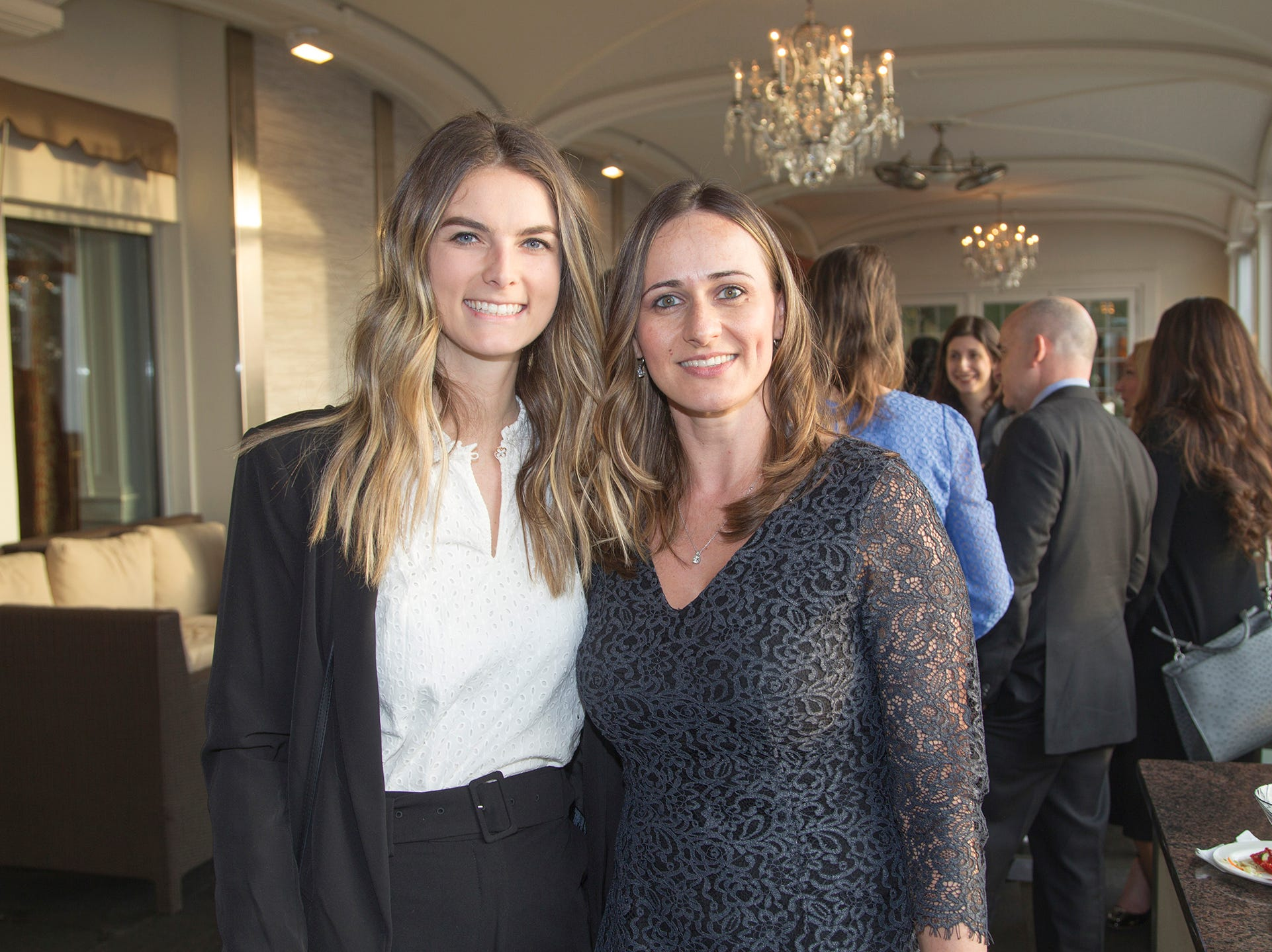 Kylie Rooney, Marta Jankowski. Girl Scouts of Northern New Jersey held its Women of Achievement 2019 at Westmount Country Club in Woodland Park. 04/04/2019