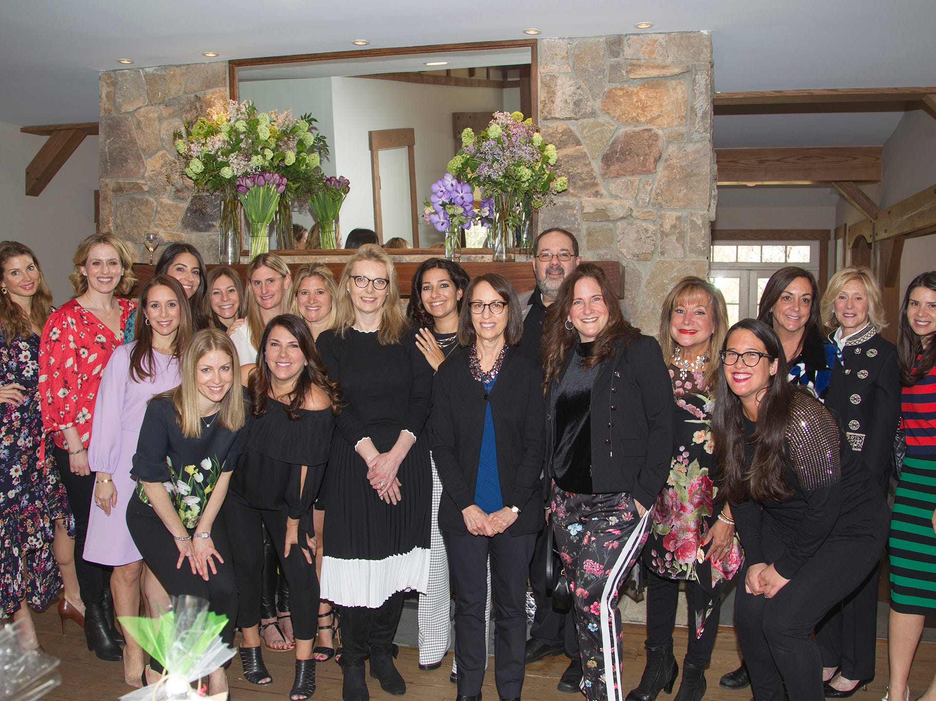 Lavish Lunch Committee Members. Kaplen JCC on the Palisades held its annual Lavish Lunches for Seniors in our Community. 04/04/2019