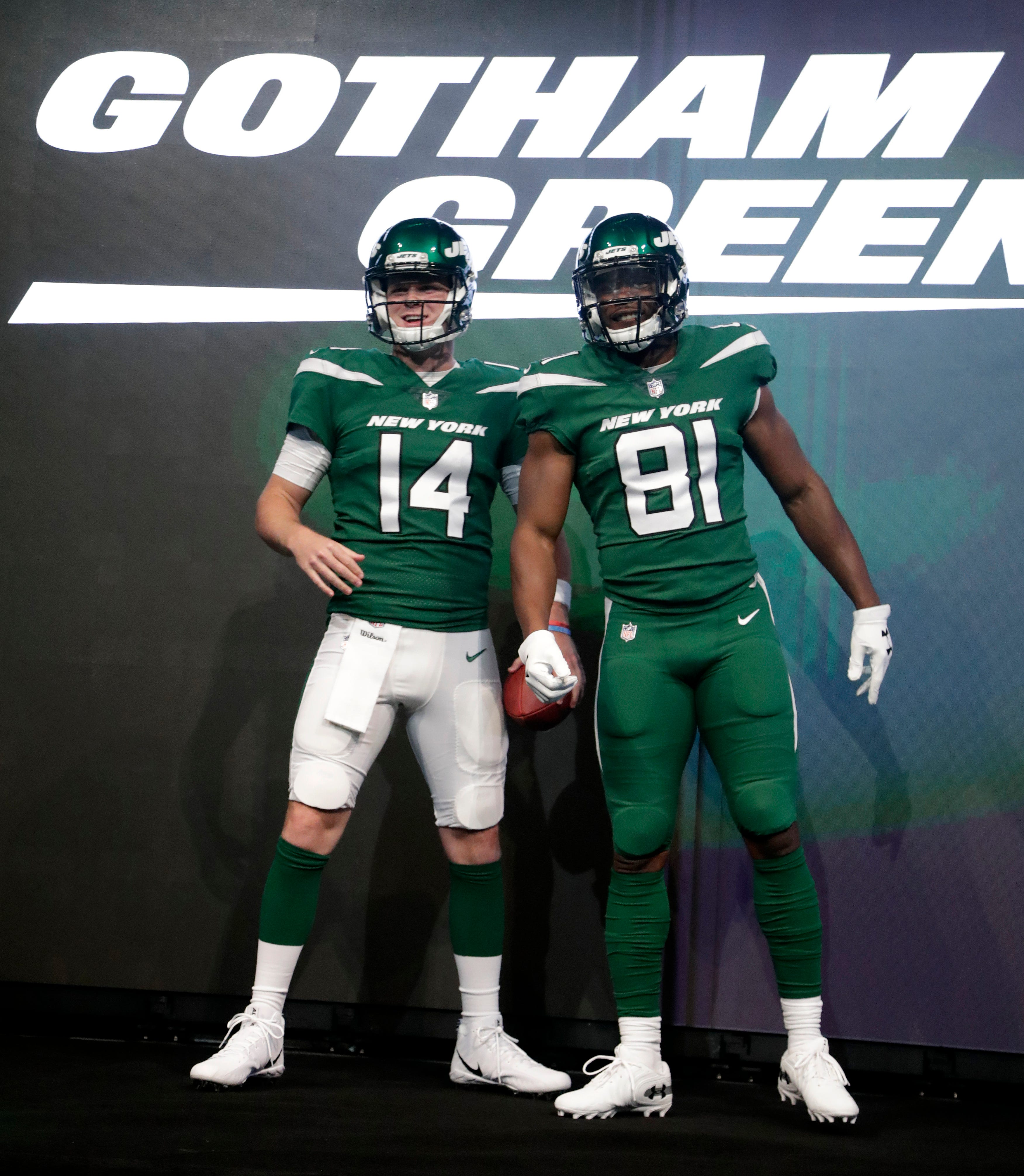 NY Jets reveal new uniforms, here's