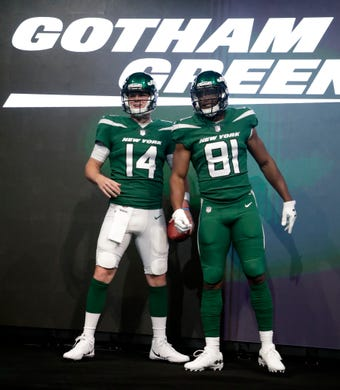 best cheap 08238 b03d1 NY Jets reveal new uniforms, here's what they look like