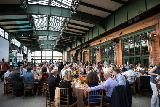 The Community FoodBank of New Jersey's Blue Jean Ball will be held at Central Railroad Terminal in Jersey City.