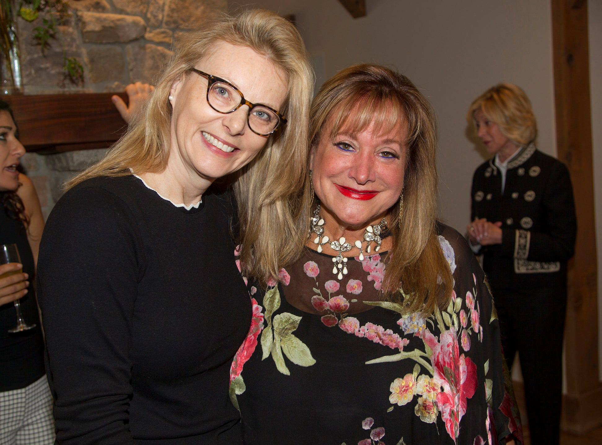 Tanya Steel, Diane Denberg. Kaplen JCC on the Palisades held its annual Lavish Lunches for Seniors in our Community. 04/04/2019