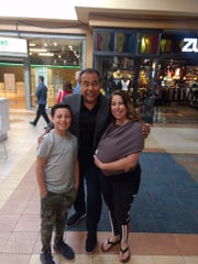 "Genelle Padilla and her son Jacob, 11, of Truth or Consequences, will be featured on a future episode of ABC's ""What Would You Do?"" with John Quinones. The mother and son duo were shopping at Mesilla Valley Mall in Las Cruces when they had their encounter with Quinones."