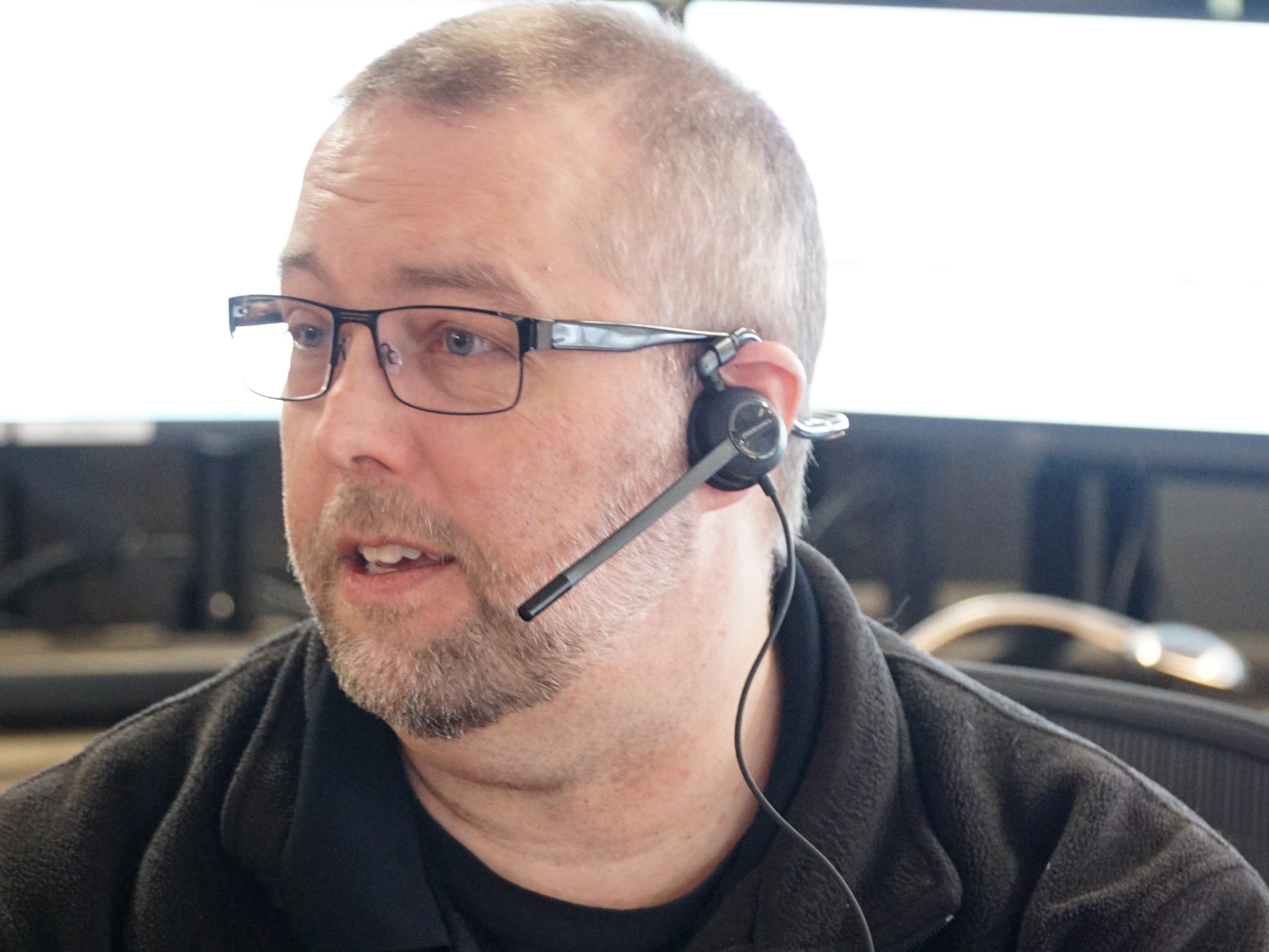 Dearborn 911 dispatcher Brian Black.