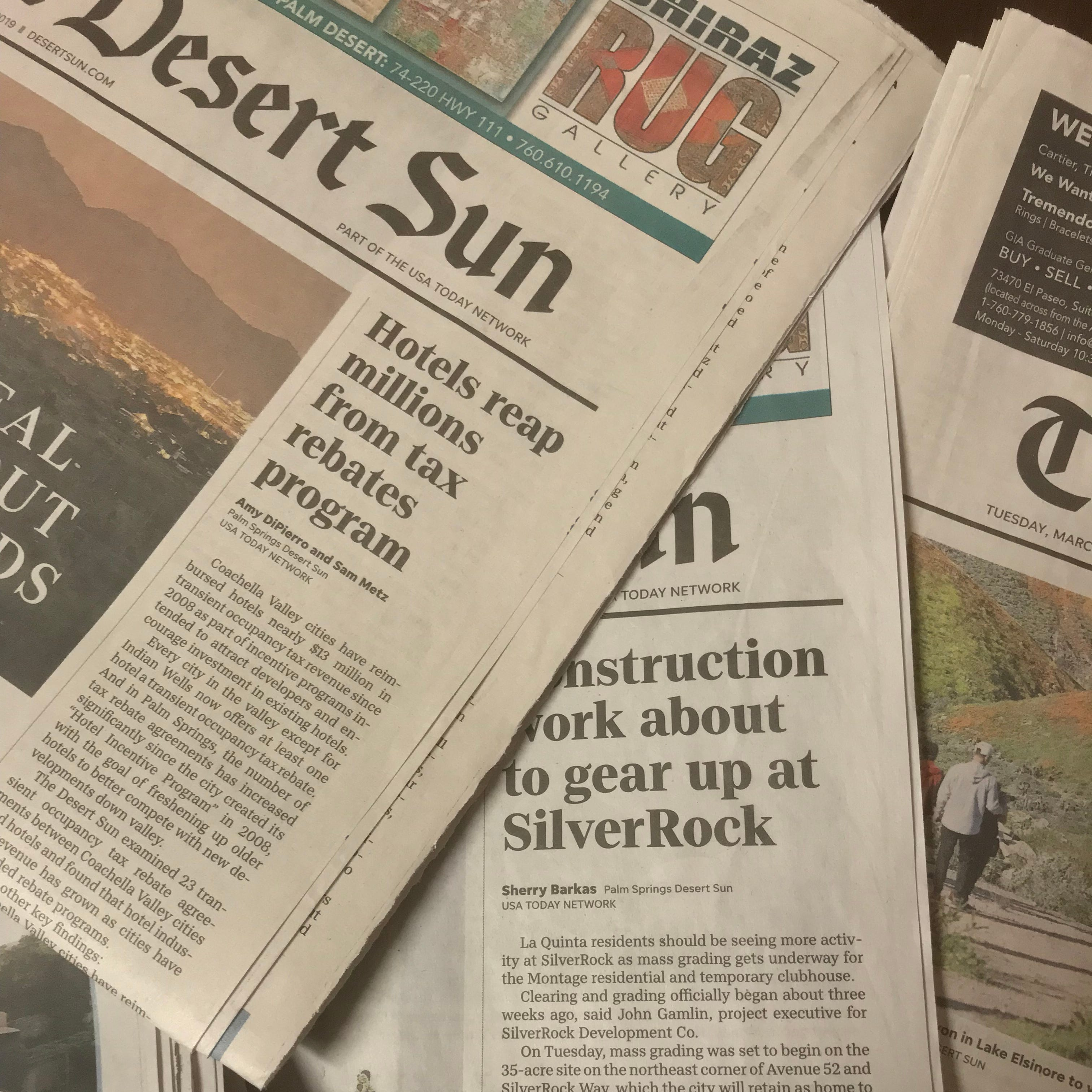 The Desert Sun is nurturing a new generation of journalists. And you can help